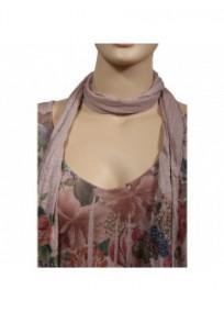 robe & foulard assorti Claude Gérard grande taille (détail)