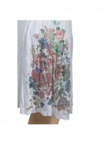 robe & foulard assorti Claude Gérard grande taille (motif)