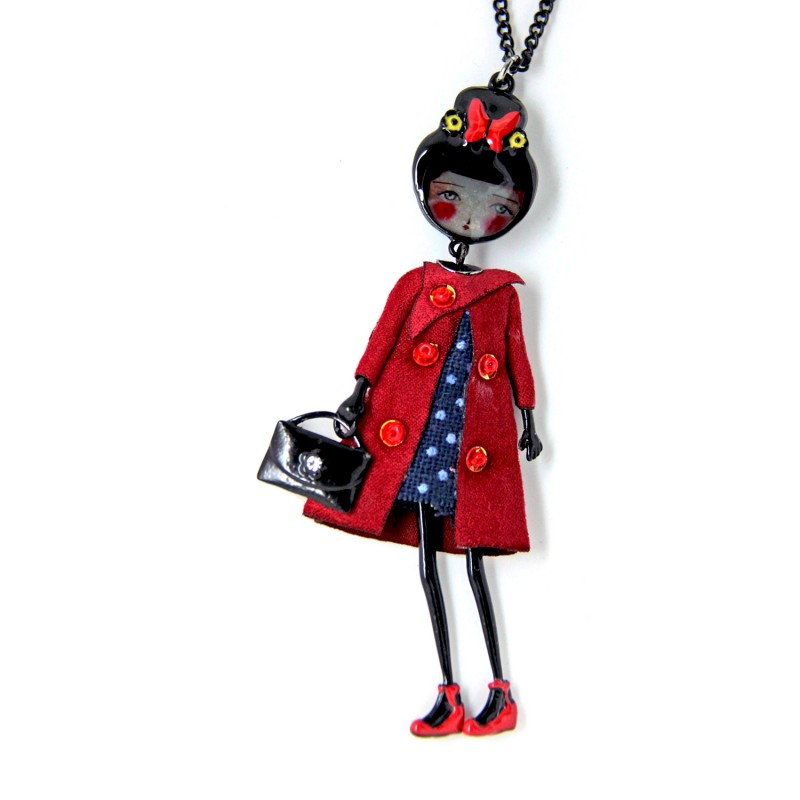 "collier grande taille - sautoir ""Marine"" collection les pepettes Lol bijoux"