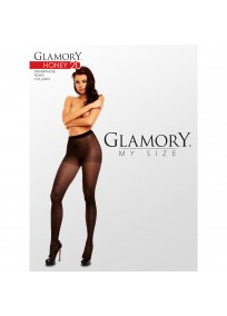 Collant grande taille fantaisie Honey 20 Glamory