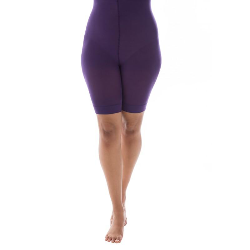 short anti frottement Pamela Mann grande taille (violet)