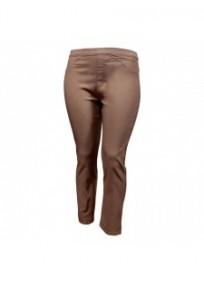 pantalon grande taille - tregging taupe nanabelle (face)